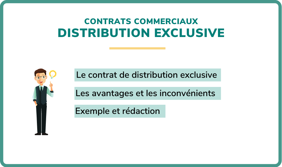 contrat distribution exclusive