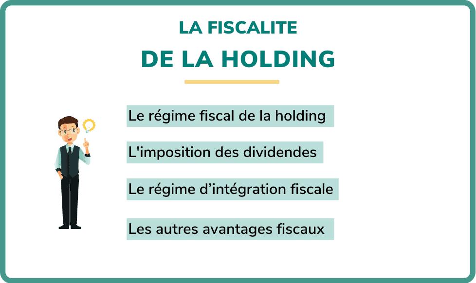 fiscalité holding