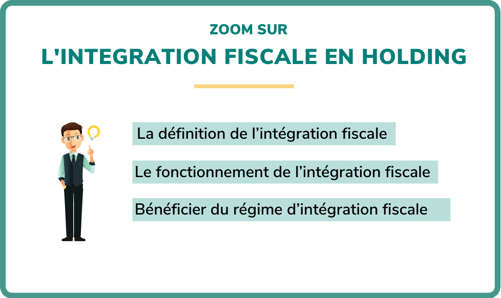 intégration fiscale holding
