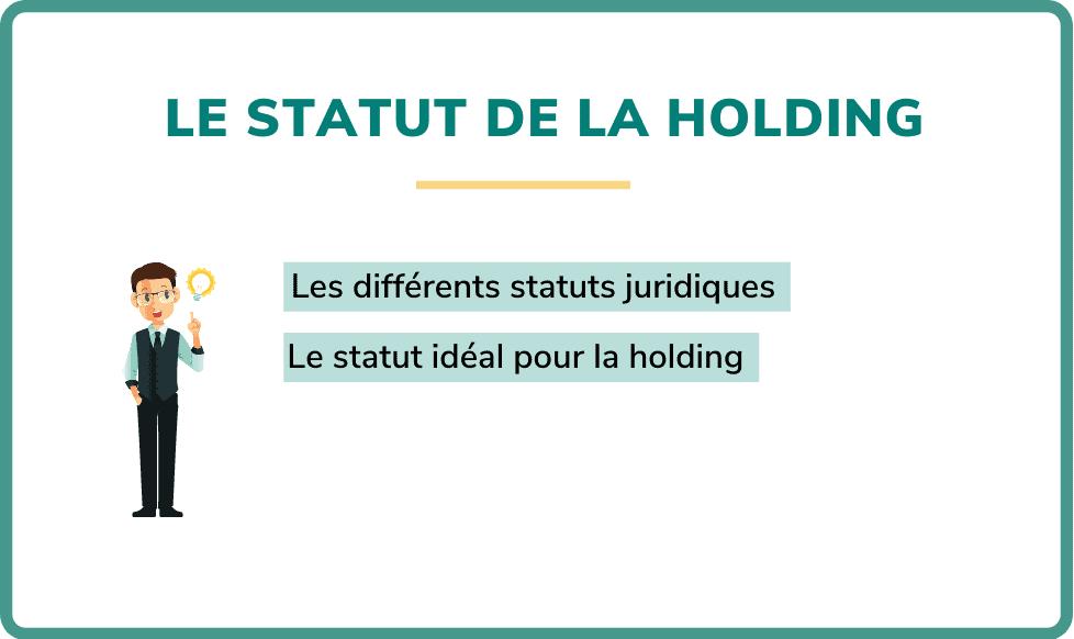 statut holding
