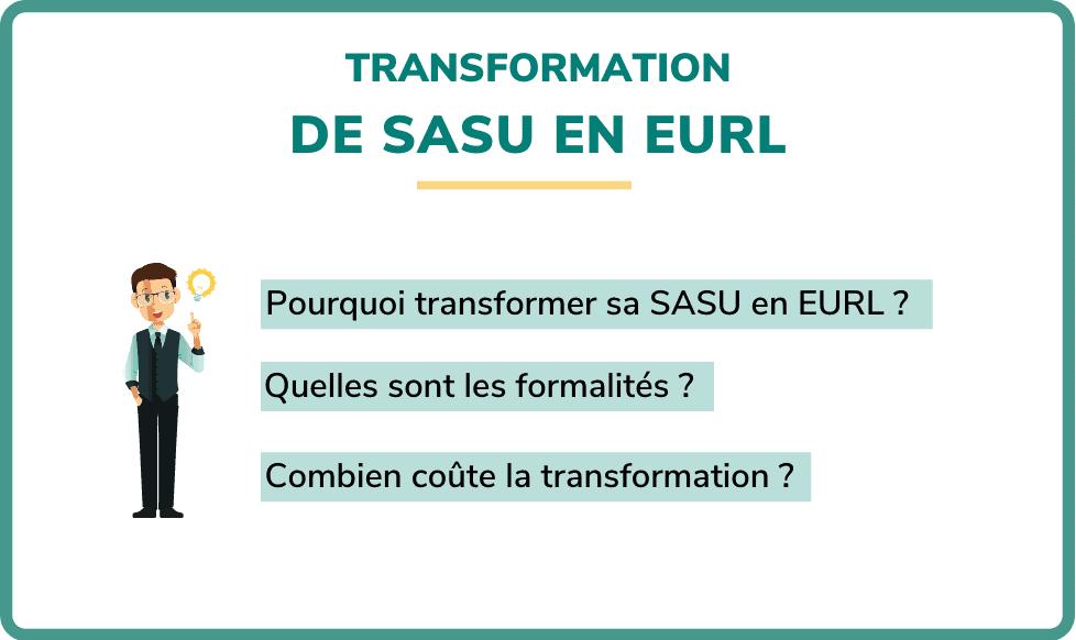 transformation sasu en eurl