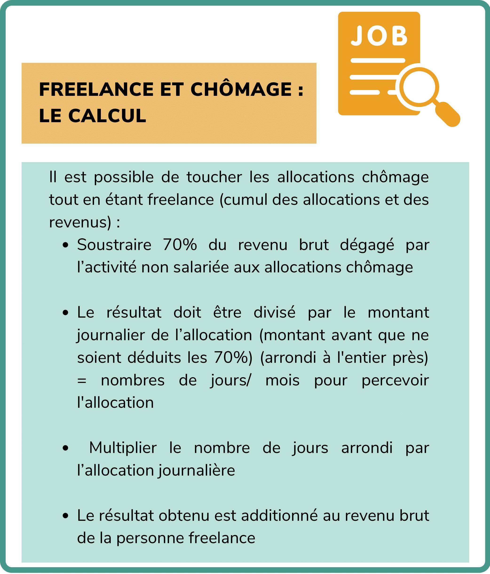freelance et chômage